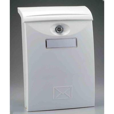 Ящик почтовый LTP-03 1-секционный пластиковый белый (271 x 105 x 411 мм)