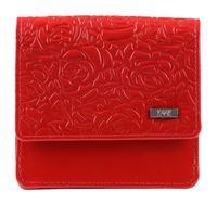 Кошелек женский Esse Валли Red из натуральной кожи красного цвета (55895)