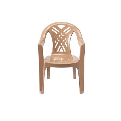 Кресло пластиковое Престиж-2 №6 темно-бежевое