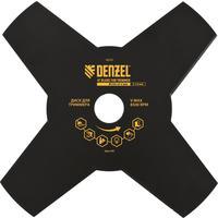 Диск для триммера Denzel 230х25.4 4 лезвия (96323)