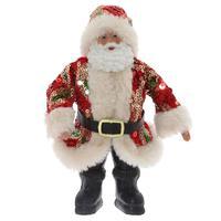 Фигурка декоративная Дед Мороз (12x4x24 см)