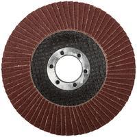 Круг шлифовальный лепестковый торцевой (115 мм, Р 80) FIT (39544)