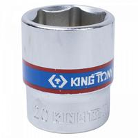 Головка торцевая King Tony шестигранная 3/8 дюйма 20 мм (333520M)