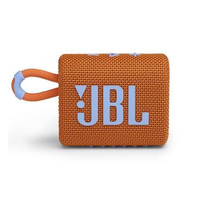 Акустическая система JBL GO 3 оранжевая (JBLGO3ORG)
