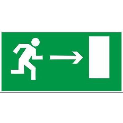E03 Направление к эв.выходу направо (плёнка.150х300)