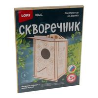Конструктор Lori Синичник Скворечник из дерева (6 деталей)