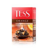 Чай Tess Orange черный с апельсином и яблоком 100 г