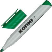 Маркер для бумаги для флипчартов Kores XF1 зеленый (толщина линии 3 мм)  круглый наконечник