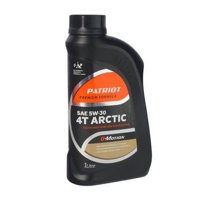 Масло полусинтетическое Patriot G-Motion 5W30 4Т ARCTIC 1 л (850030100)