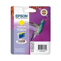 Картридж струйный Epson T0804 C13T08044011 желтый оригинальный
