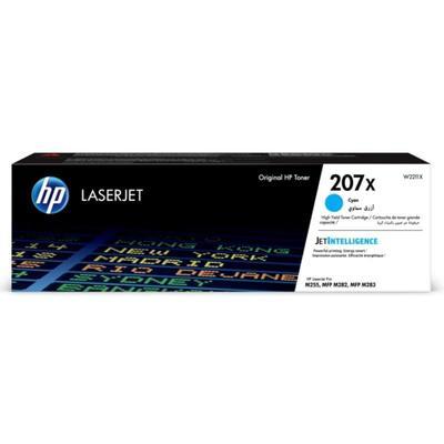 Картридж лазерный HP 207X W2211X голубой оригинальный повышенной емкости