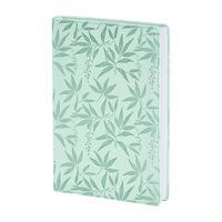 Ежедневник недатированный 2021 год InFolio Leaves искусственная кожа A5 160 листов зеленый (140x200 мм)