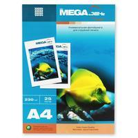Фотобумага для цветной струйной печати ProMega jet односторонняя (матовая, А4, 230 г/кв.м, 25 листов)