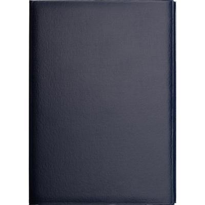 Папка адресная А4 бумвинил с поролоном синяя