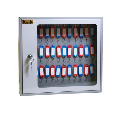 Шкаф для ключей Klesto SKB-39 серый (на 39 ключей, металл)