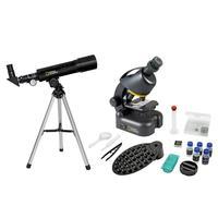 Набор Bresser National Geographic (микроскоп, телескоп, держатель для смартфона)