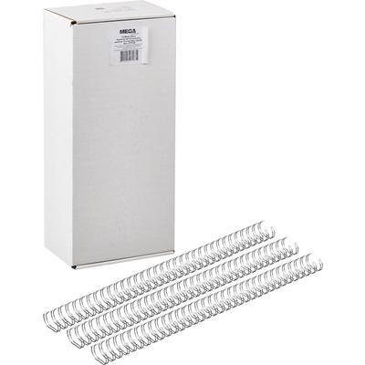 Пружины для переплета металлические Promega office 14.3 мм серебристые (100 штук в упаковке)