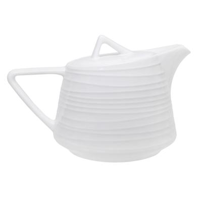Чайник заварочный Tudor England Royal Circle фарфоровый белый 500 мл (артикул производителя TU2307)