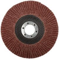 Круг шлифовальный лепестковый торцевой (125 мм, Р 36) FIT (39551)