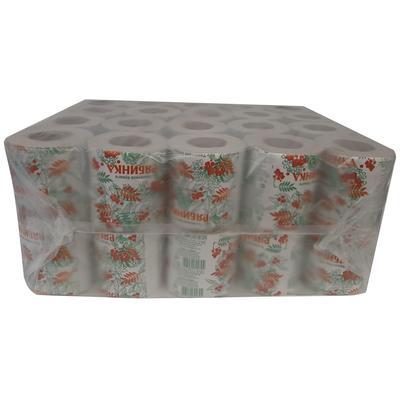 Бумага туалетная 1-слойная серая 25 м (40 рулонов в упаковке)