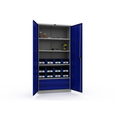 Шкаф инструментальный TC-1995-004020 (комплект №4,950x500x 1900 мм)