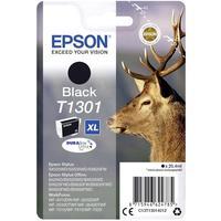 Картридж струйный Epson C13T13014012 черный повышенной емкости оригинальный