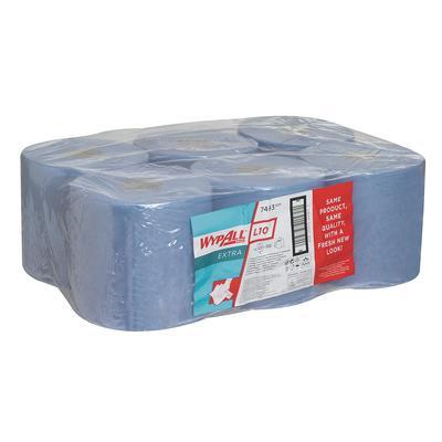 Салфетки хозяйственные в рулоне Kimberly Clark 7493 Wypall L10 38x18.5 см 525 листов в рулоне