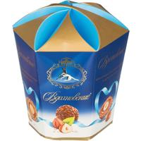 Шоколадные конфеты Вдохновение с шоколадно-ореховым кремом и фундуком 150 г