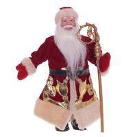 Игрушка новогодняя Дед Мороз (21x10x31 см)