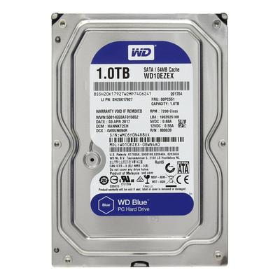 Жесткий диск Western Digital Blue 1 ТБ (WD10EZEX)
