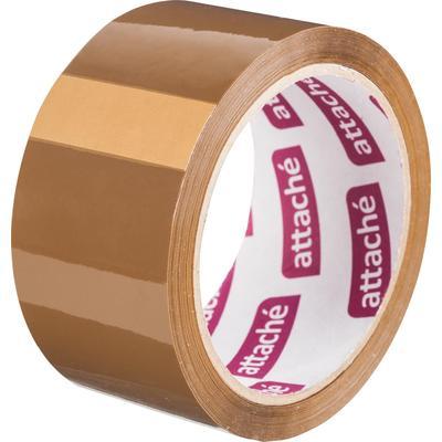 Клейкая лента упаковочная Attache коричневая 48 мм x 60 м толщина 40 мкм