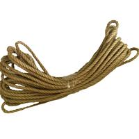 Веревка джутовая 12 мм 20 м