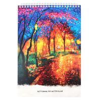 Скетчбук Проф-пресс Осенний парк А4 20 листов