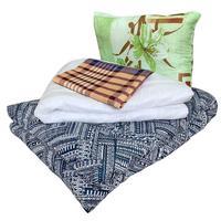 Набор 1-спальный Эконом (одеяло 140x205 см, подушка 50x70 см, матрас  70x190 см, комплект постельного белья)