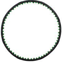 Обруч массажный пластиковый Start Up NT50615 98 см черный/зеленый