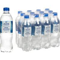 Вода питьевая Деловой Стандарт газированная 0.5 л (12 штук в упаковке)