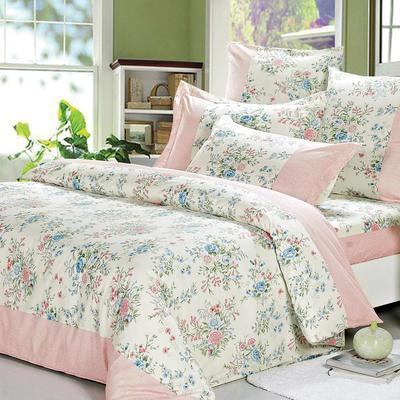 Постельное белье СайлиД A-158 (2-спальное с европростыней, 2 наволочки 70х70 см, поплин)