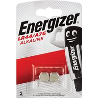 Батарейки Energizer Alkaline LR44/A76/V13GA (2 штуки в упаковке)