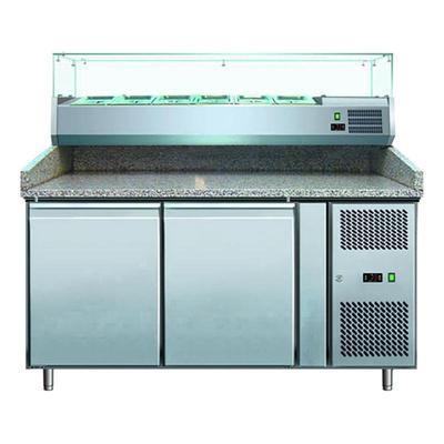 Холодильник-рабочий стол для пиццы Gastrorag PZ 2600 TN/VRX