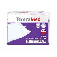 Пеленки впитывающие TEREZA MED 60х60 см SUPER (30 штук в упаковке)