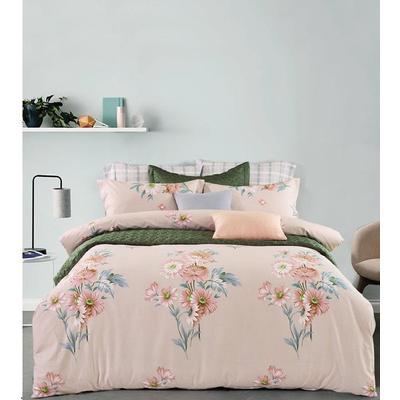 Постельное белье DO&CO Sahra (2-спальное с европростыней, 2 наволочки 50x70 см, 2 наволочки 70x70 см, сатин)