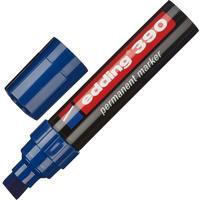 Маркер перманентный Edding 390/3 синий (толщина линии 4-12 мм) скошенный наконечник