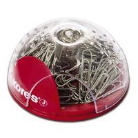 Скрепочница магнитная Kores пластиковая со скрепками