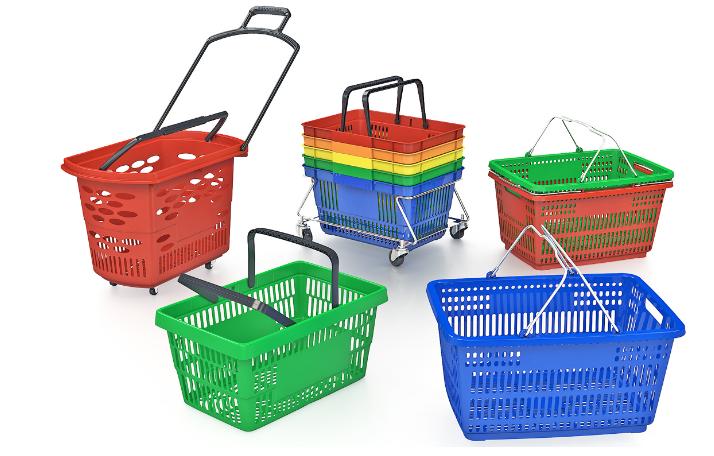 Покупательские тележки и корзинки