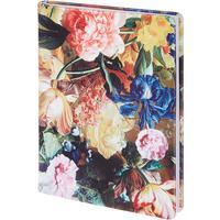 Ежедневник недатированный InFolio Floria искусственная кожа А5 разноцветный (140х200х13 мм)
