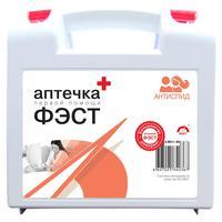 Аптечка первой помощи для салонов красоты, косметических кабинетов ФЭСТ АнтиСПИД (бокс пластиковый)
