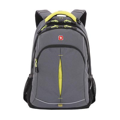Рюкзак Swissgear 22 литра серого/зеленого цвета (SA3165426408)