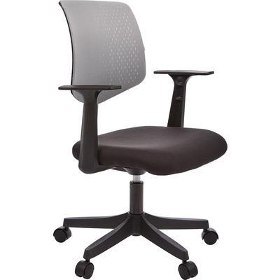 Кресло офисное Easy Chair 321 PTW серое/черное (сетка/ткань/пластик)