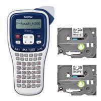 Комплект принтер этикеток ленточный Brother PT-H100 и 2 кассеты с лентой (PTH100BUND)
