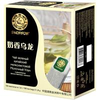 Чай Shennun зеленый Молочный Улун 100 пакетиков